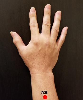 手のツボ 支溝(しこう)