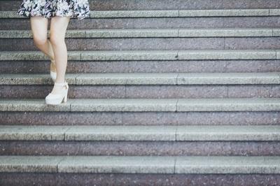 階段を使う