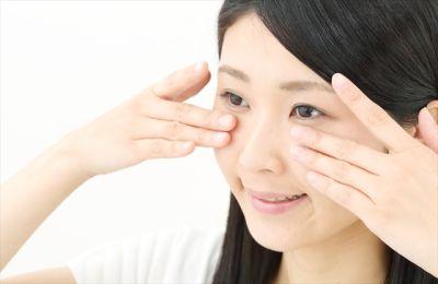 眼輪筋を鍛える