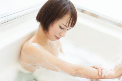 お風呂で二の腕痩せ体操
